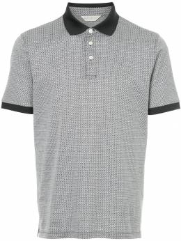 Gieves & Hawkes patterned polo shirt G37H9ER09038