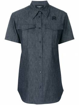 Rochas - джинсовая рубашка с короткими рукавами M666368RM05656690550