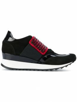 Loriblu - кроссовки на платформе с заклепками OF098SSNB90339969000