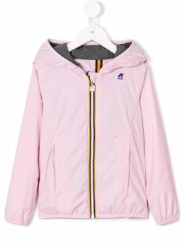 K Way Kids - куртка на молнии с капюшоном 83869063596800000000