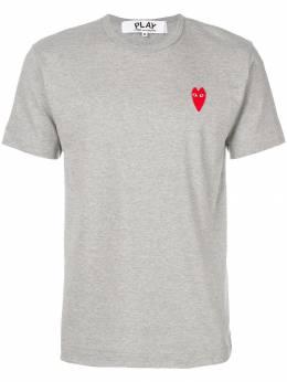Comme Des Garçons Play - футболка с принтом логотипа 03690558956000000000
