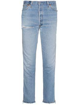 Re/Done - джинсы слим с молниями и классической талией 3HRACZ90650568000000