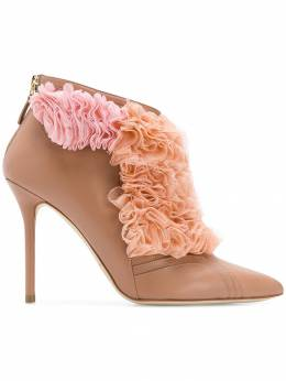 Malone Souliers - сапоги с оборками 'Fluffy' FFYANKLECL9909930530
