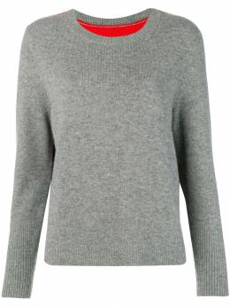Chinti & Parker - contrast back panel sweater 9GFN9098993500000000