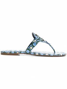 Tory Burch - Miller printed sandals 33903306900000000000