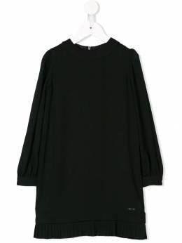 Dsquared2 Kids - платье с плиссированным подолом 0Z8D66PG936053580000