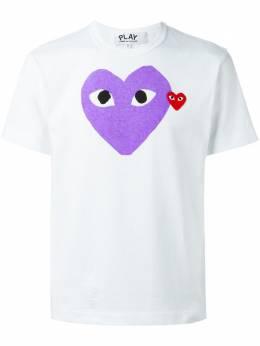 Comme Des Garçons Play - футболка с принтом сердца 96699005396000000000