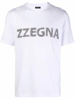 Z Zegna - футболка с логотипом 30ZZ636M936589980000