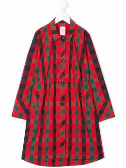 Familiar - collared raincoat 95693653656000000000