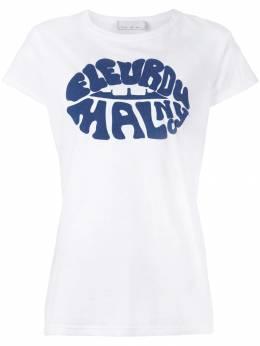 Fleur Du Mal - футболка с принтом логотипа 95395669366990300000