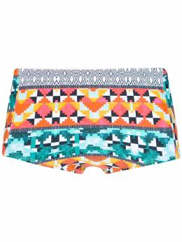 Lygia & Nanny - printed 'Parati' swim trunks 56656900538960000000