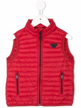 Emporio Armani Kids - zip-up quilted gilet BB09NLEZ939909390000