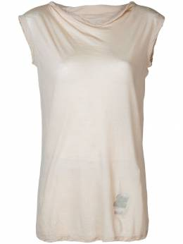 Rick Owens DRKSHDW - sleeveless fitted sweater 8F3065B9390868800000