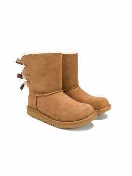 Ugg Australia Kids - TEEN bow shearling boots OWCN9693395KT9306006