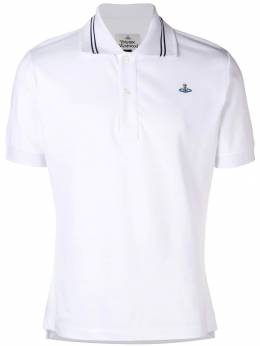Vivienne Westwood - striped collar polo shirt GL6669S0395093996699