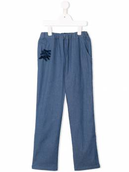 Familiar - bow-detail trousers 03693969399000000000