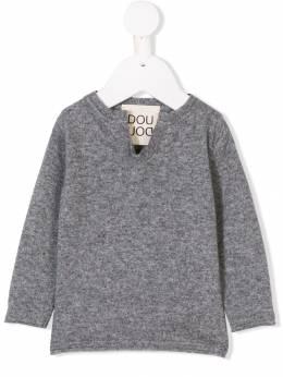 Douuod Kids - notched neck sweater 69690393005399000000