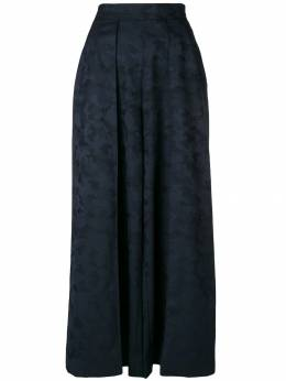 Talbot Runhof - wide leg camouflage trousers 95CB0693955998000000