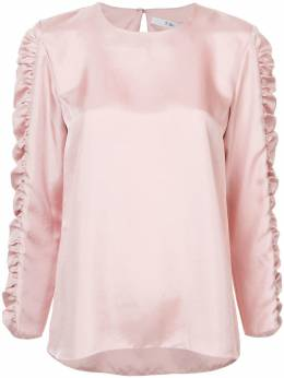 Tibi - блузка 'Mendini' со сборками на рукавах 8MT39589099899300000