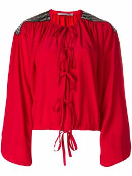 Christopher Kane crystal bow blouse 557220UKS02