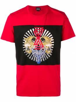 Just Cavalli - футболка с принтом GC6555N0666393535699