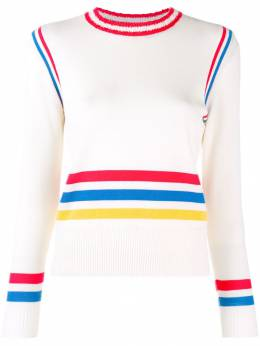 Chinti & Parker - свитер в полоску дизайна колор-блок 9CRM9393596000000000