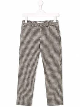 Dondup Kids - прямые брюки в клетку A95CQ056935656900000