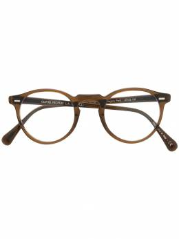 Oliver Peoples - солнцезащитные очки 'Gregory Peck' 98693566855000000000