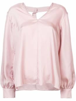 Tibi - блузка 'Mendini' с застежкой на пряжке сзади 8MT39659099899900000