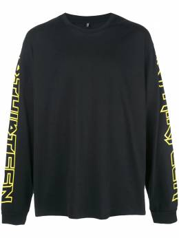 R13 - футболка с длинными рукавами M3960699369656000000