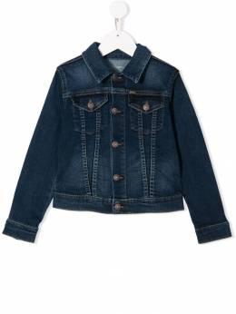 Ralph Lauren Kids выцветшая джинсовая куртка 312698662