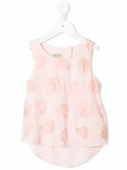 Kenzo Kids - блузка с принтом тигров 06983093586686000000