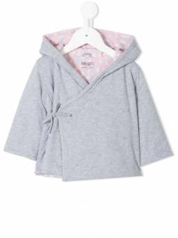 Kenzo Kids - куртка с завязкой сбоку 36630593586665000000