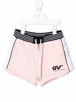 Givenchy Kids - шорты с полосками по бокам 65655S93660955000000
