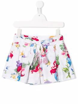 Monnalisa - шорты с принтом 'Little Mermaid' 59936599369535600000