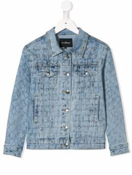 John Richmond Junior - джинсовая куртка с принтом 99685GBFE93655553000