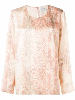 Forte Forte - блузка с принтом змеиной кожи 3MYSHIRT936356380000