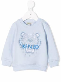 Kenzo Kids - джемпер с узором тигра 5398BB93663869000000