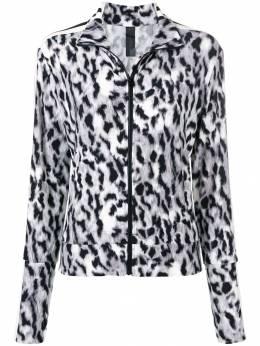 Norma Kamali - леопардовая спортивная куртка 085PL665566936606550