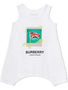 Burberry Kids - боди с принтом 'Polaroid' 63689356053500000000