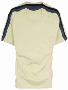 Y / Project футболка в полоску TS25S16