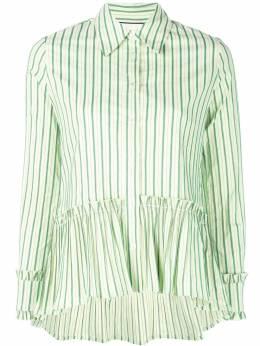 Alexis - полосатая рубашка с баской 86990565993300605000