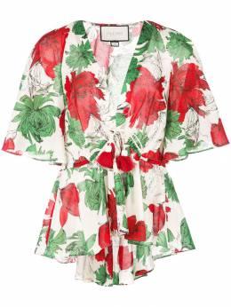 Alexis - блузка с цветочным принтом 86696956539330060900
