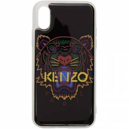 Kenzo Black 3D Tiger Logo iPhone X/XS Case 192387M15300701GB