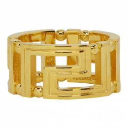 Versace Gold Greek Key Ring 192404M14702008GB