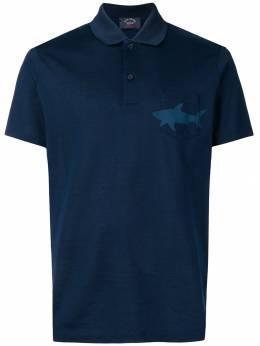 Paul & Shark рубашка-поло с принтом E19P1301