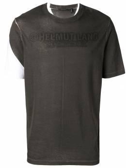 Helmut Lang - футболка с логотипом HM569938698890000000