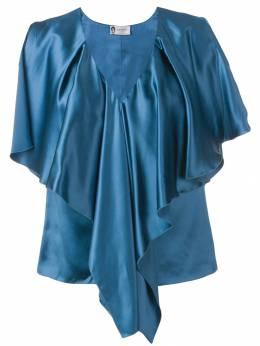 Lanvin блузка с оборками RWTO669U4077P19