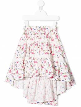 Monnalisa - юбка с цветочным принтом 36536059383095900000
