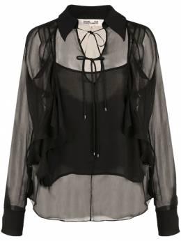 Diane von Furstenberg - блузка Everleigh с воротником 96DVF938089000000000